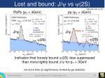 lost and bound j y vs y 2s