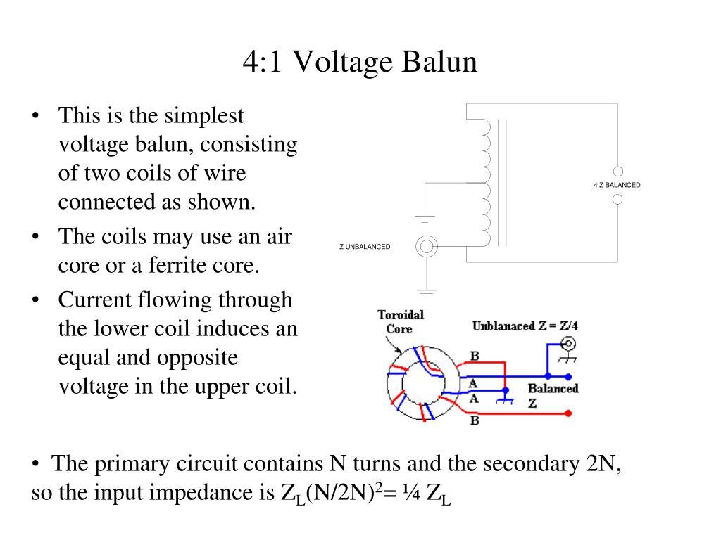 PPT - Baluns PowerPoint Presentation - ID:6846446