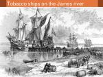 tobacco ships on the james river