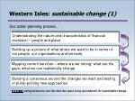 western isles sustainable change 1