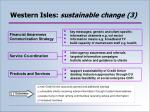 western isles sustainable change 3