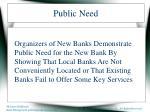 public need