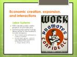 economic creation expansion and interactions2