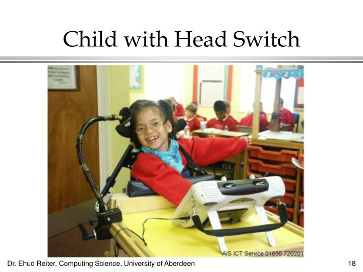 Child with Head Switch