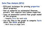 data flow analysis dfa