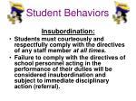 student behaviors3