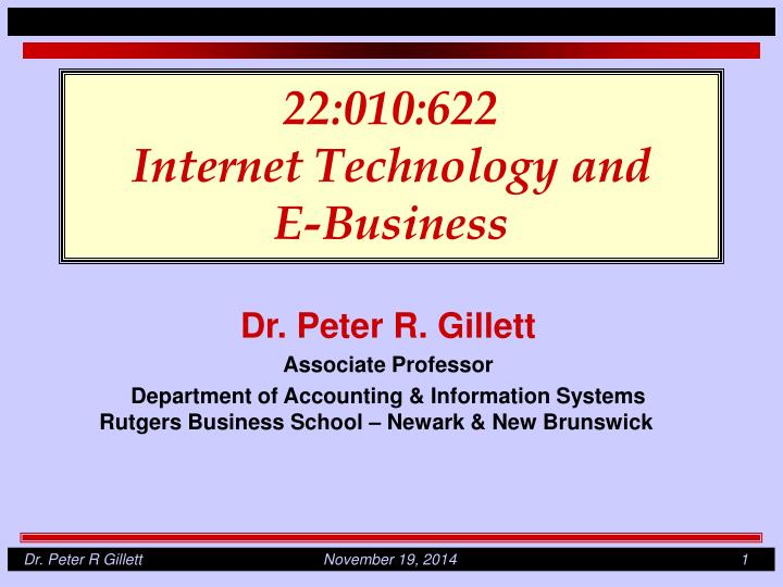 22 010 622 internet technology and e business n.