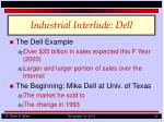 industrial interlude dell