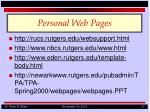 personal web pages2