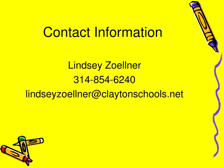 contact information n.