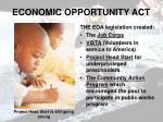 economic opportunity act