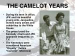 the camelot years
