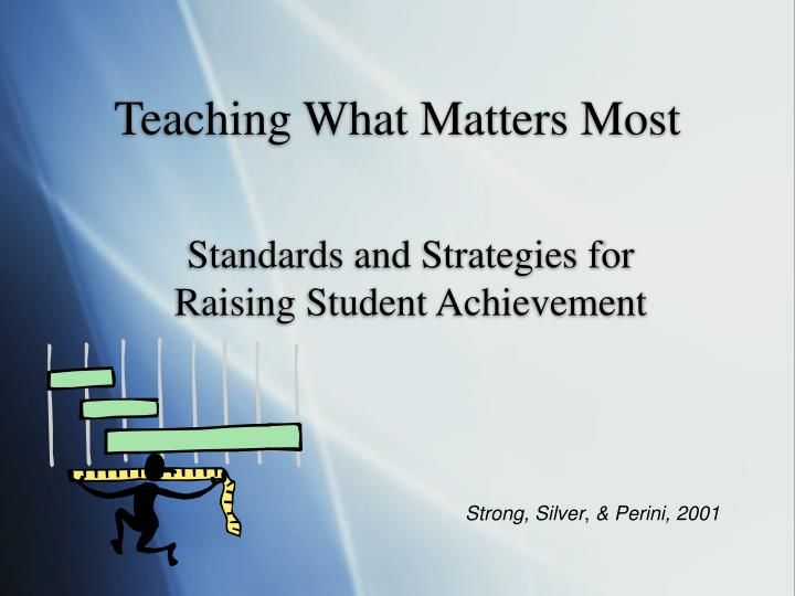 teaching what matters most n.