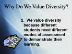 why do we value diversity1