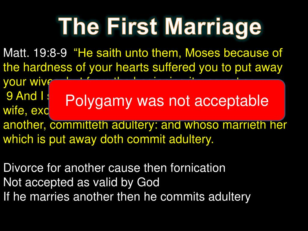 PPT - The Bible and Polygamy PowerPoint Presentation - ID