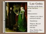 late gothic