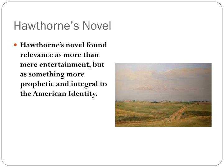Hawthorne's Novel