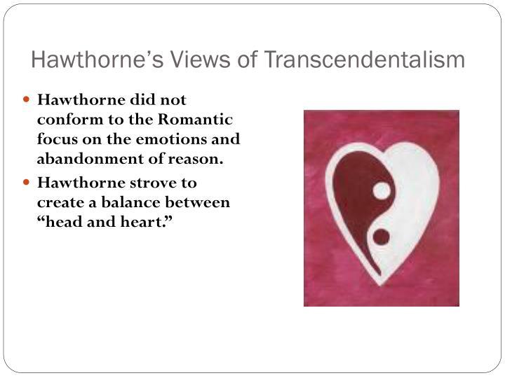 Hawthorne's Views of Transcendentalism