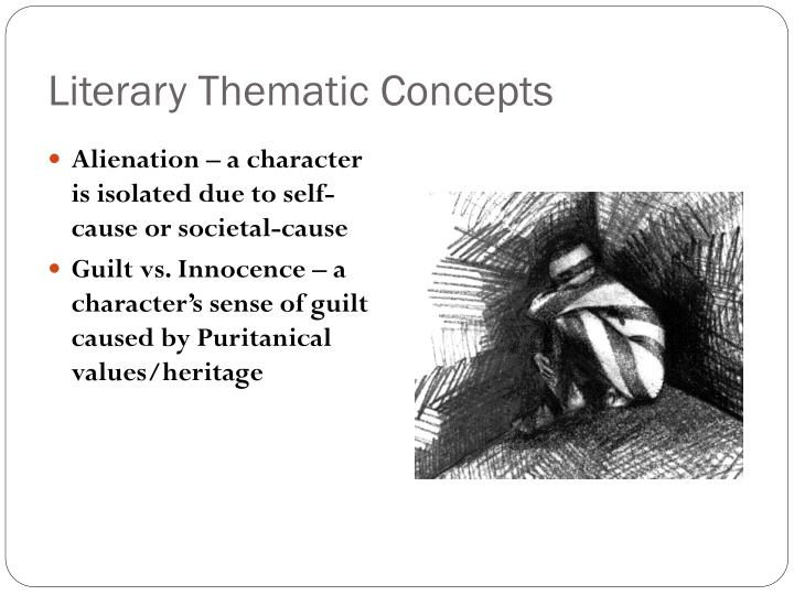 Literary Thematic Concepts
