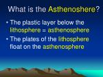 what is the asthenoshere
