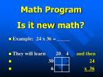 math program5