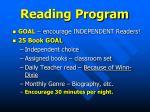 reading program1