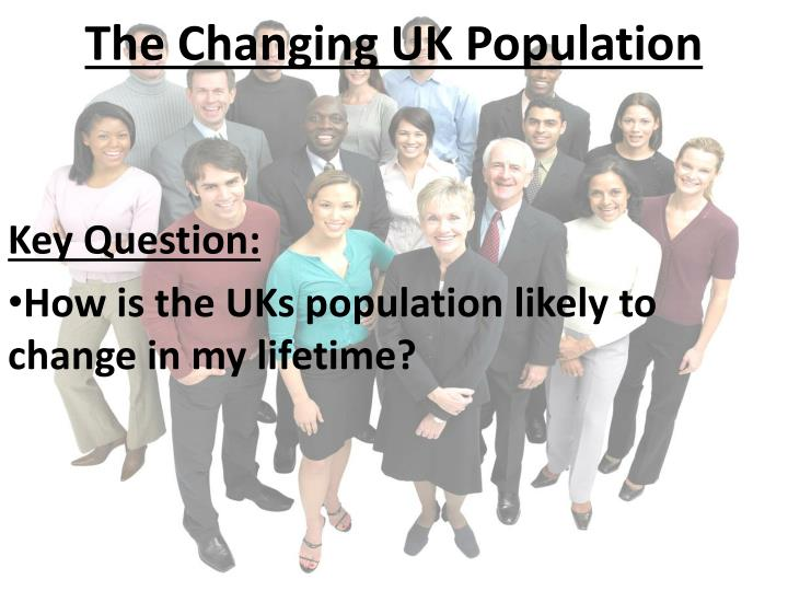 the changing uk population n.