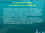 3 7 extended reading accounting and accountants