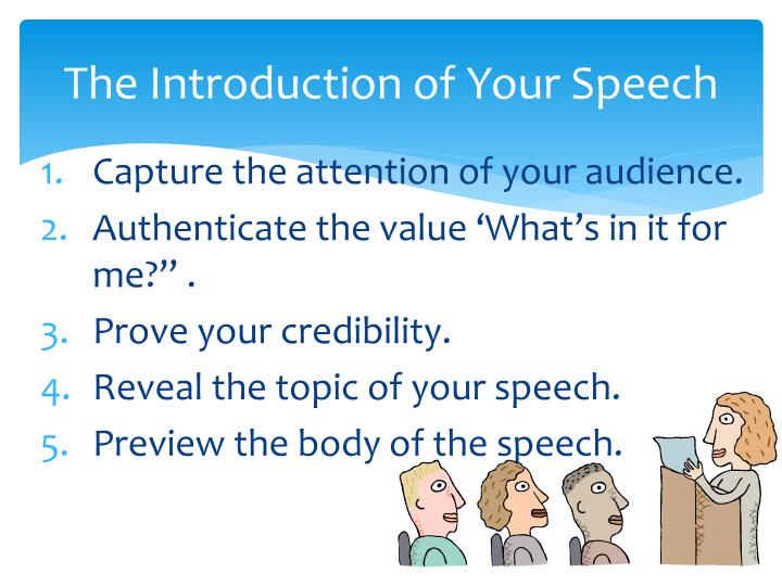 career informative speech An informative speech is meant to deliver a specific message to an audience a speech is made up of three main parts: the introduction, body and conclusion.