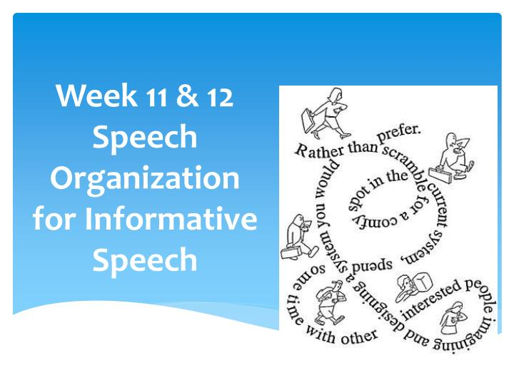 subjects for informative speech Get an answer for 'what are some interesting speech topics for a five minute speech fun or serious topics' and find homework help for other speech questions at enotes.