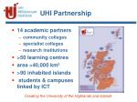 uhi partnership