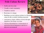 folk culture review