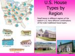 u s house types by region