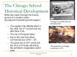 the chicago school historical development