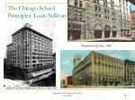 the chicago school principles louis sullivan