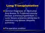 lung transplantation1