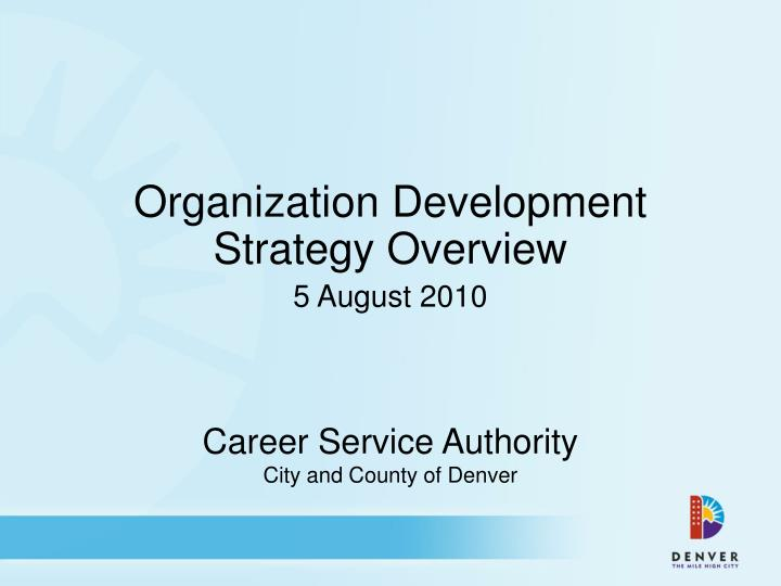 career service authority city and county of denver n.