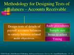 methodology for designing tests of balances accounts receivable4