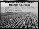 american sentiment toward japanese americans