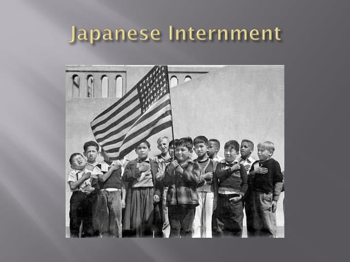 japanese internment n.