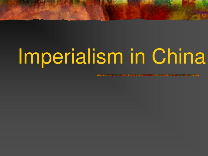 imperialism in china n.