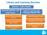 library and learning services