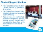 student support centres