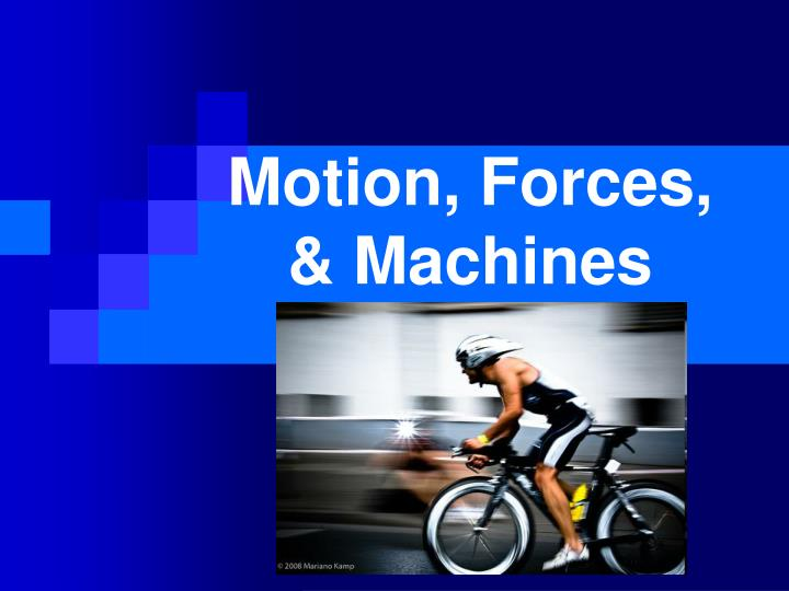 motion forces machines n.