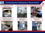 enhancing the productivity of government