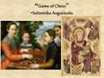 game of chess sofonisba anguissola