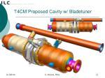 t4cm proposed cavity w bladetuner