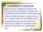 limitations cautions1