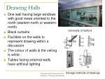 drawing halls