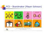 pcs boardmaker mayer johnson